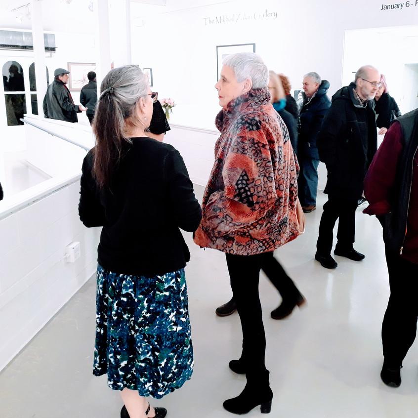 Opening reception