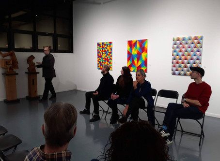 Opening Reception and Panel Talk - More Than A Feeling