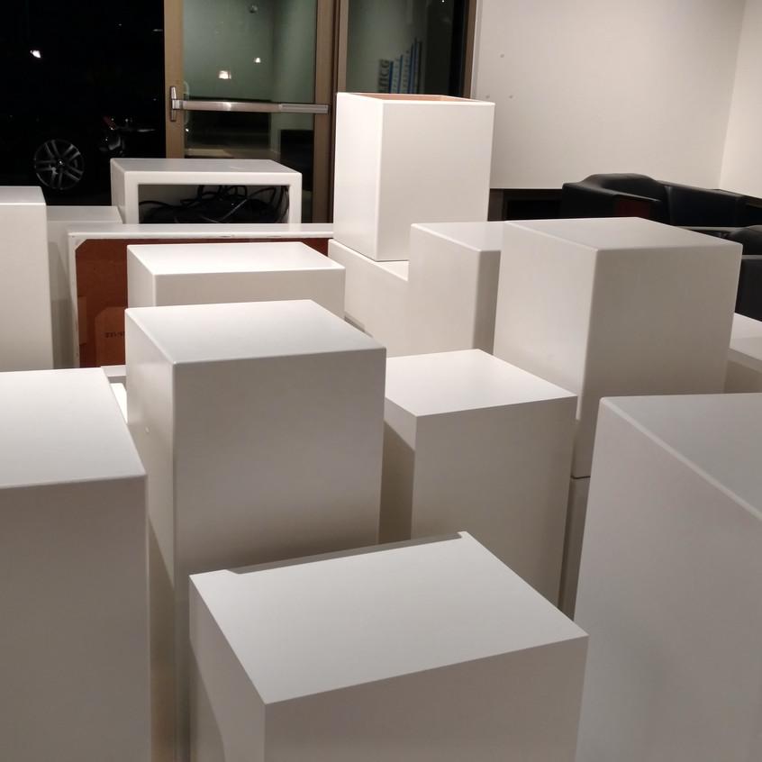 3Rose Gallery Installation