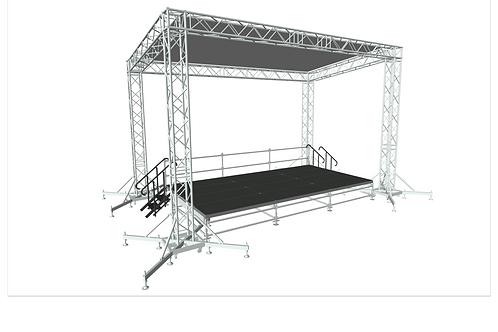 Stage 6m x4m