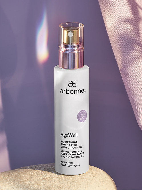 AgeWell Refreshing Toning Mist with Vitamin B3