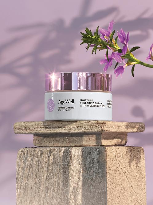 AgeWell Moisture Restoring Cream with Broad Spectrum SPF
