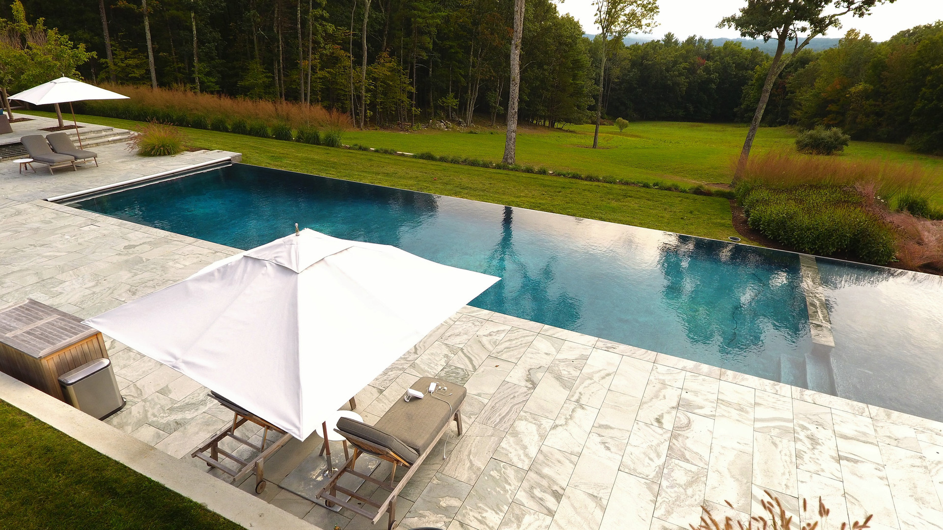 Modern Farmhouse Pool and Spa