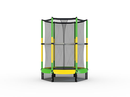 Copia de Bounce Pro 55-Inch My First Trampoline, with Safety Enclosure, Green