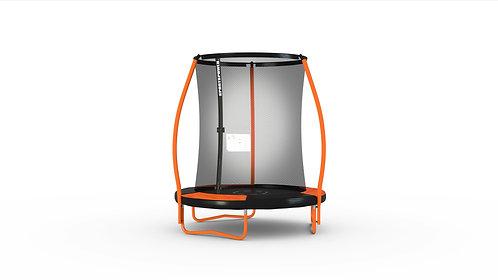 Copia de Bounce Pro 6-Foot Trampoline, with Enclosure and Mini Flash Light Zone,