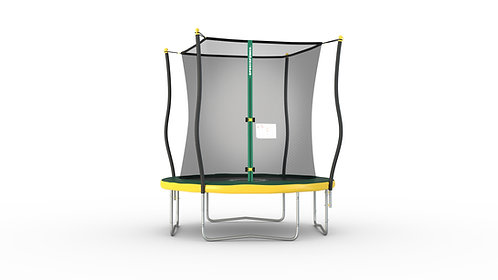 Copia de Bounce Pro 8-Foot Trampoline, with Classic Enclosure and Flash Light Zo