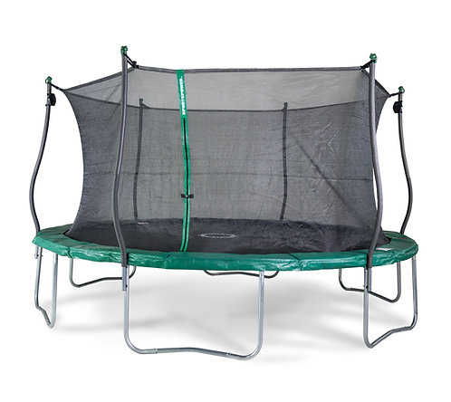 Bounce Pro 15-Foot Trampoline, with Classic Enclosure and Electron Shooter Game,