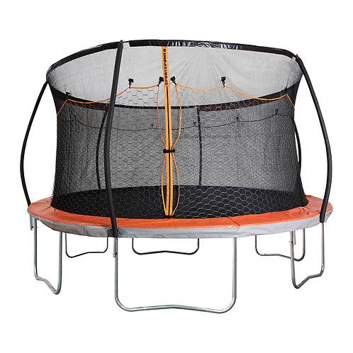 15' Steelflex Trampoline with Double Net