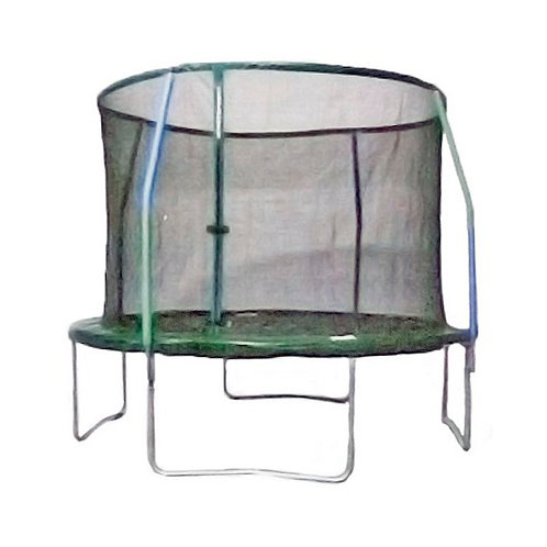 Bounce Pro 12-Foot Trampoline, with Steel Flex Enclosure
