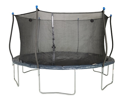 Bounce Pro 14-Foot Trampoline and  Enclosure Combo with Electron Shooter