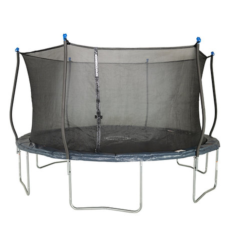 Bounce Pro 14-Foot Trampoline, with Classic Enclosure, Midnight Blue