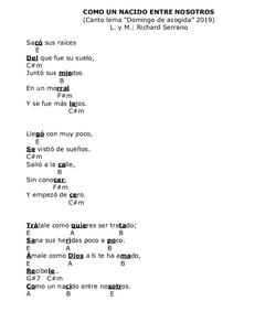 Letra canción