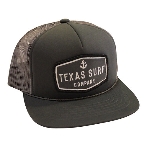 Anchor Patched Trucker -Charcoal