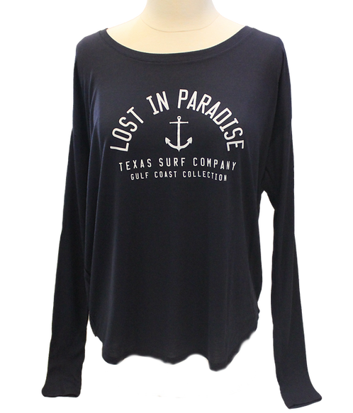 Lost In Paradise Long Sleeve - Midnight