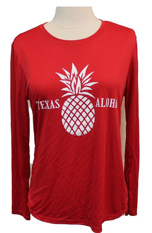 Texas Aloha Tech LS - Red