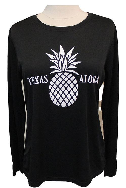 Texas Aloha Tech LS - Black
