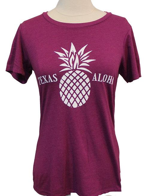 Texas Aloha Tee - Lush