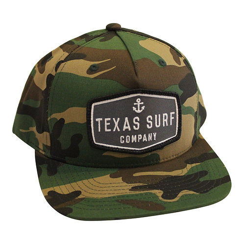 Anchor Patched 5-panel -Camo