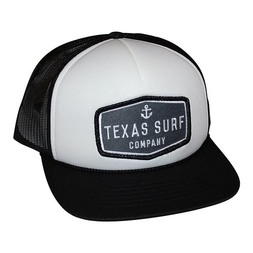 Anchor Patched Trucker - Black/White