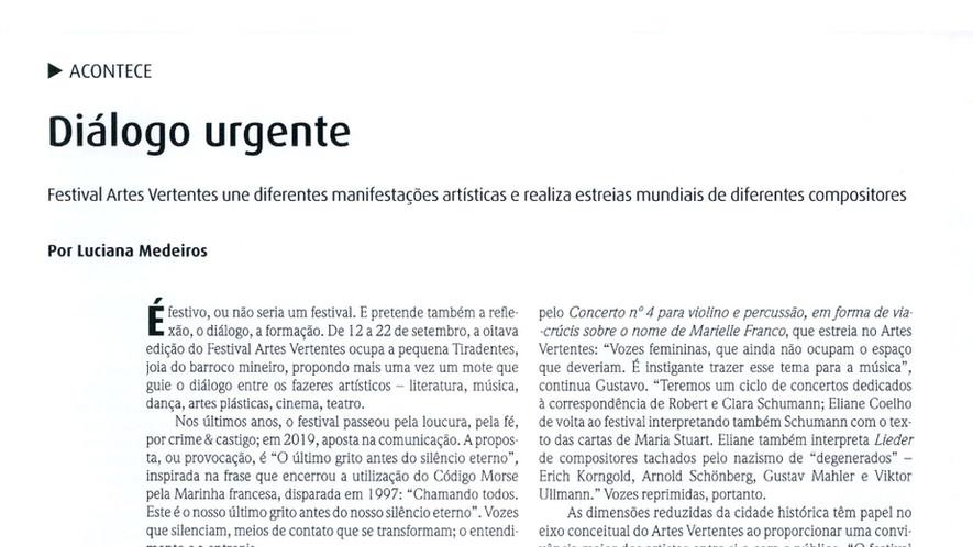 2019.09.01 | Artes Vertentes | Revista C