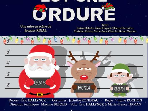 Le Père Noël est une ordure - Théâtre - 18 novembre 2017