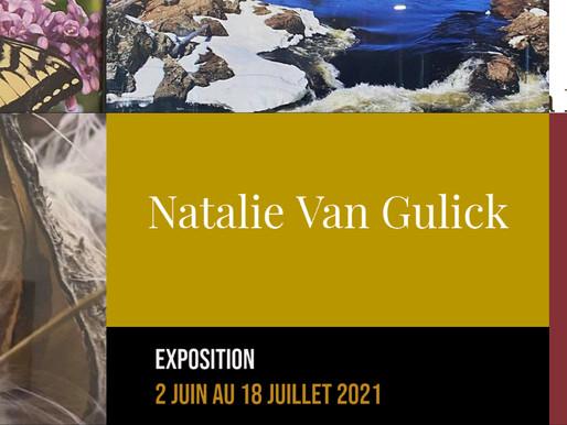 Le retour des expositions au restaurant Le Faimfino avec Natalie Van Gulick jusqu'au 18 juillet 2021