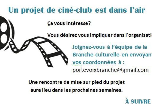 Projet de ciné-club