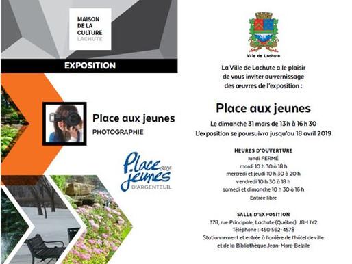 Porte-voix culturel: Exposition à la Maison de la culture de Lachute