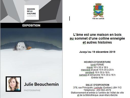 Porte-voix culturel: Julie Beauchemin à la Maison de la culture de Lachute