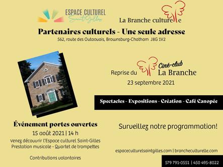 De retour bientôt chez notre partenaire culturel Espace culturel Saint-Gilles!