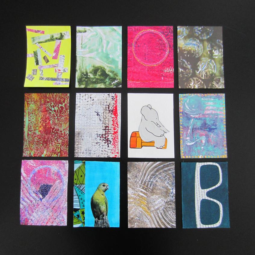 Cartes d'artistes