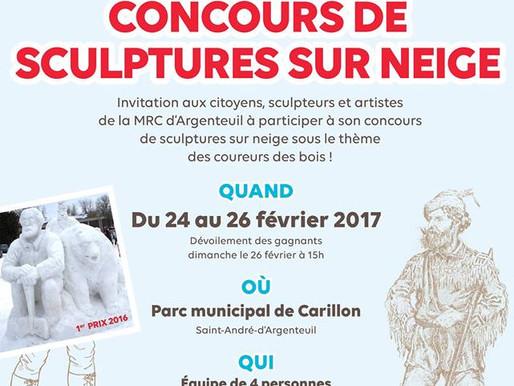 Fête hivernale du Musée régional d'Argenteuil et la municipalité de Saint-André-d'Argenteuil