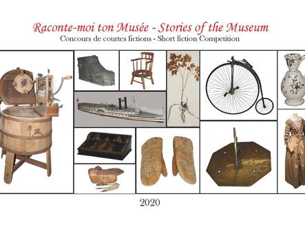 """Recueil """"Raconte-moi ton Musée -  Stories of the Museum"""" - Points de vente"""