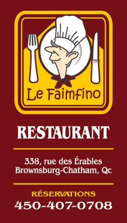 Restaurant Le Faimfino