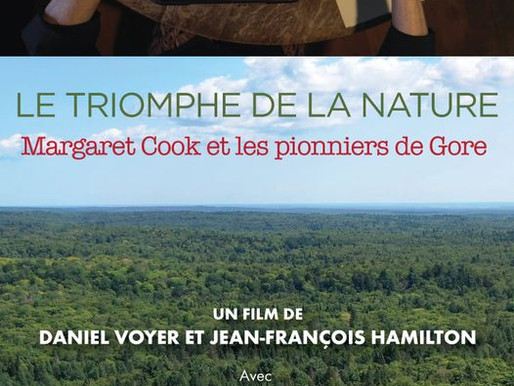 """Projection """"Le triomphe de la nature: Margaret Cook et les pionniers de Gore"""""""