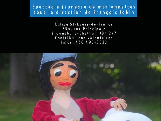 L'enlèvement de Max - théâtre de marionnettes