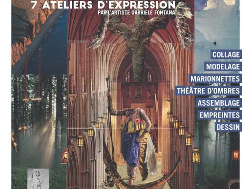 Parcours vers l'enchantement - ateliers d'arts - Espace culturel Saint-Gillles