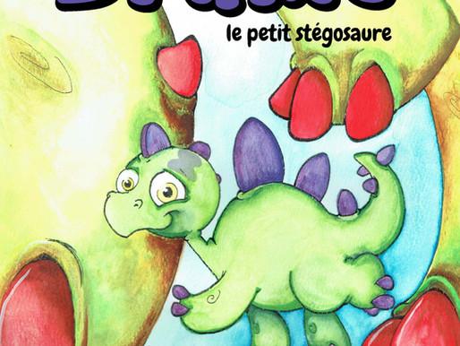"""Lancement de l'album jeunesse """"Brume le petit stégosaure"""" 5 novembre 2017"""