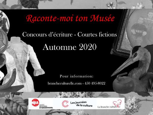 """Finalistes au concours d'écriture """"Raconte-moi ton Musée"""" - Stories of the Museum"""