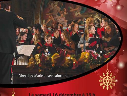 Porte-voix culturel: Concert de Noël des Productions Coup d'Choeur