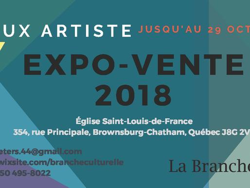Expo-Vente 2018 - Appel de dossiers