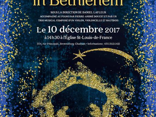 Concert de Noël - Ensemble vocal Hémiole - Puer natus in Bethlehem