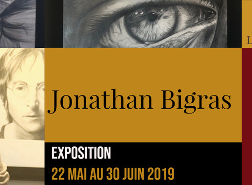 Jonathan Bigras au restaurant Le Faimfino jusqu'au 30 juin 2019