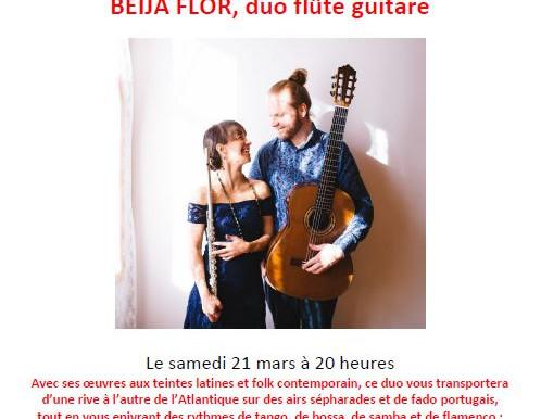 Porte-voix culturel: Beija Flor en concert intime à Saint-Placide