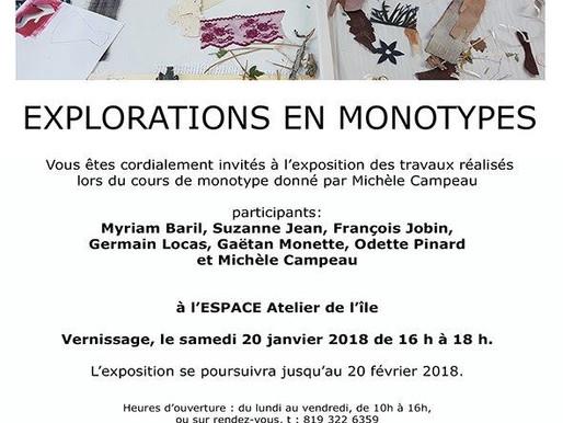 Porte-voix culturel: Explorations en monotypes à Val-David avec François Jobin