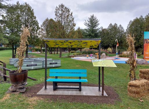 Une porte sur l'art dans vos parcs