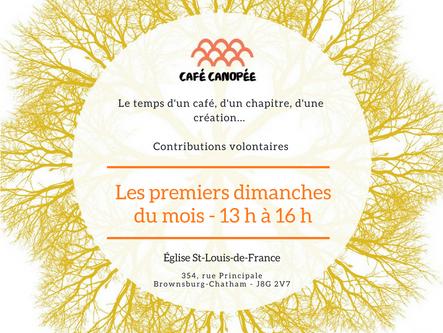 Café Canopée - 4 novembre 2018