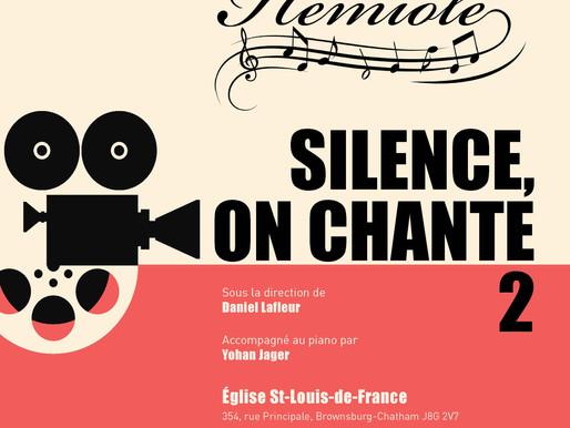 Silence on chante - Concert du printemps d'Hémiole 26 mai 2018