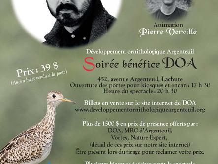 Porte-voix culturel: Damien Robitaille et Pierre Verville s'unissent à Lachute pour les oiseaux