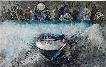 Exposition des peintures de Suzanne de Carufel